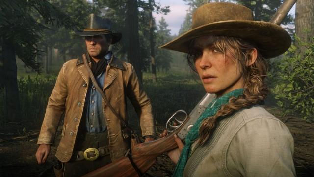 Скриншот игрового процесса игры Red Dead Redemption 2