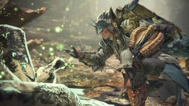 Скриншот игрового процесса игры RPG Monster Hunter World