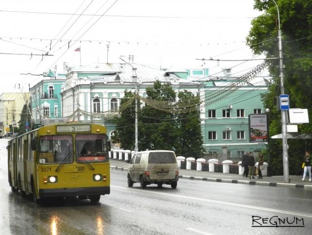 Общественный транспорт в Рязани