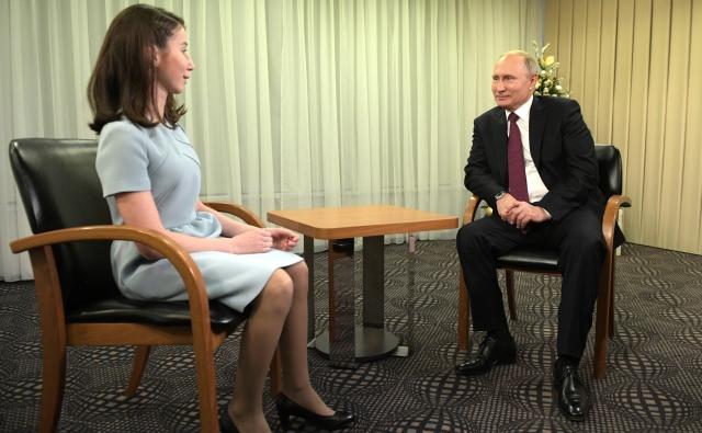 Встреча Владимира Путина с Региной Парпиевой