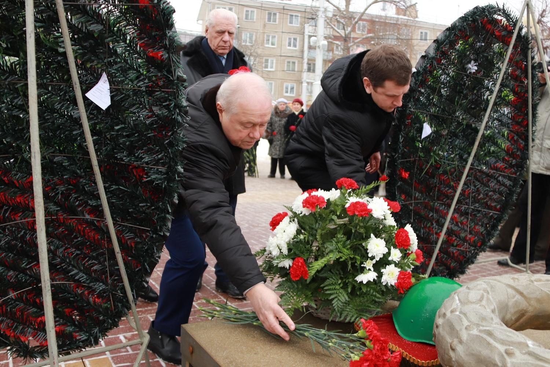 В Калуге отметили 77-летие освобождения от фашистов