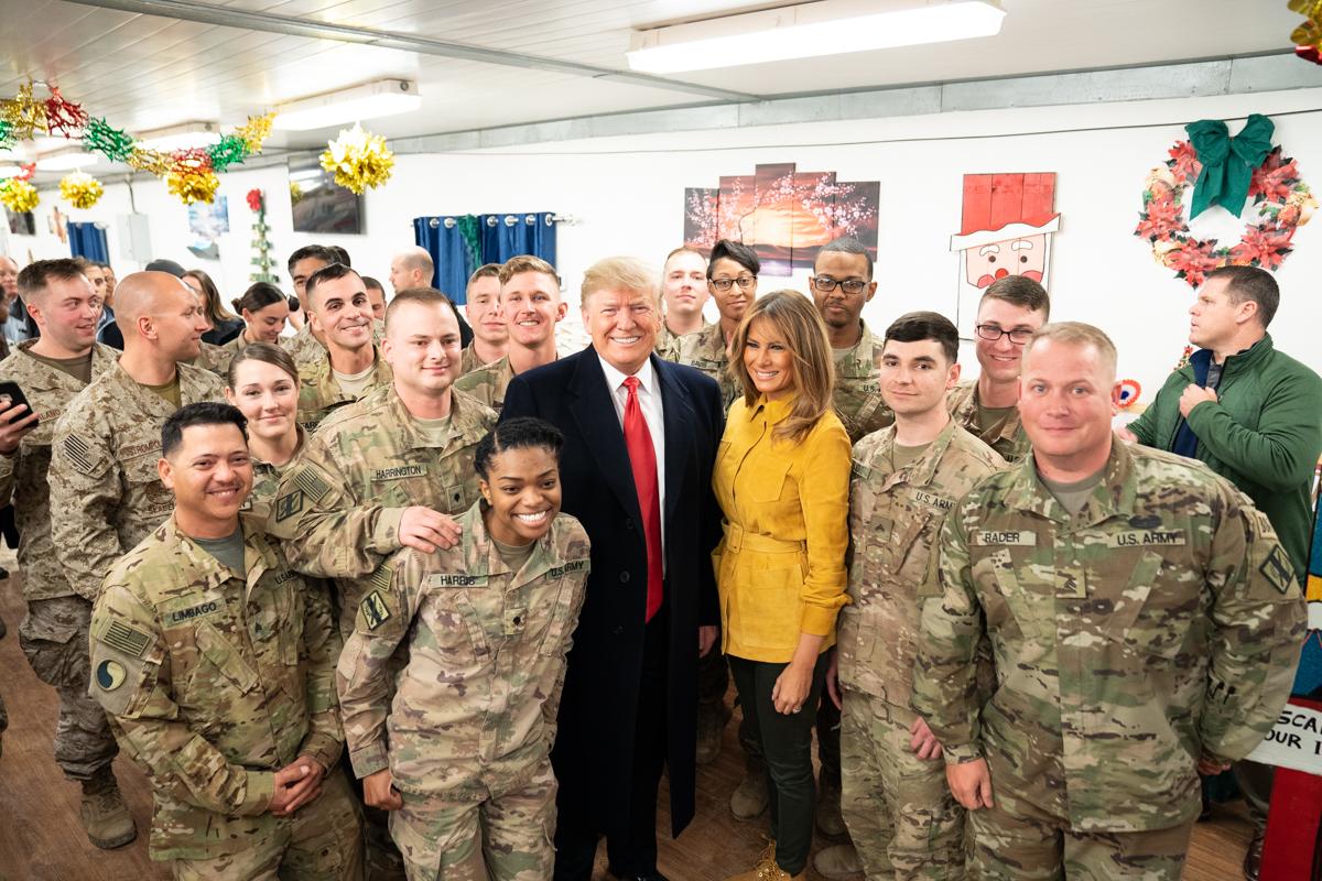 Визит семьи Трамп в Ирак