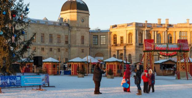 Фестиваль «Новогодняя кутерьма в Гатчине»