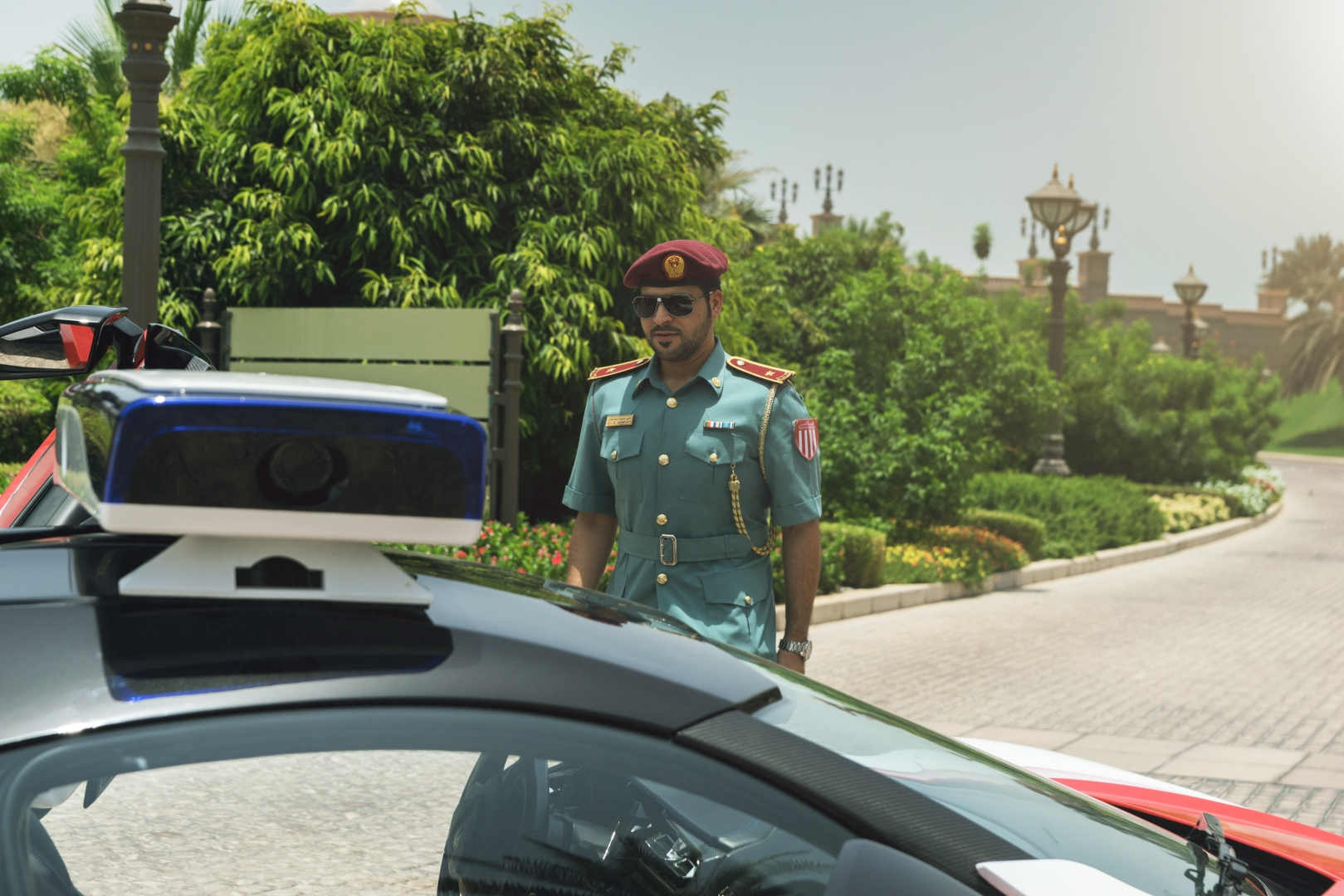 Полицейский. Абу-Даби