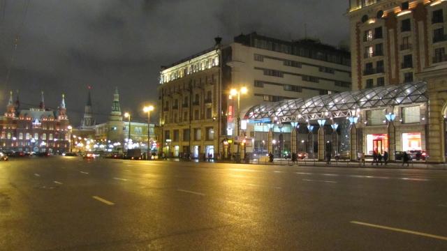 Улица Тверская. Москва