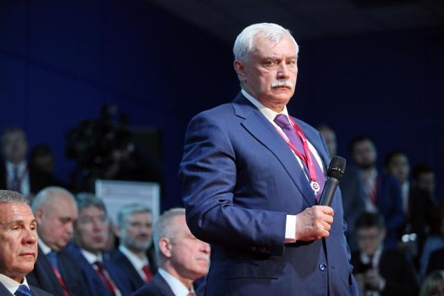 Экс-губернатор Георгий Полтавченко