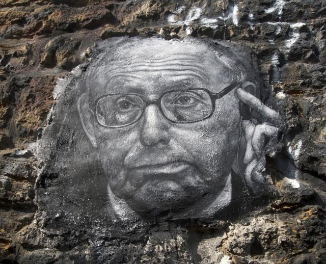 Сэмюэл Хантингтон (уличное граффити)