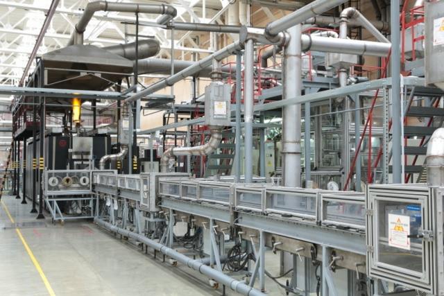 Автоматизированная линия производства ядерного топлива
