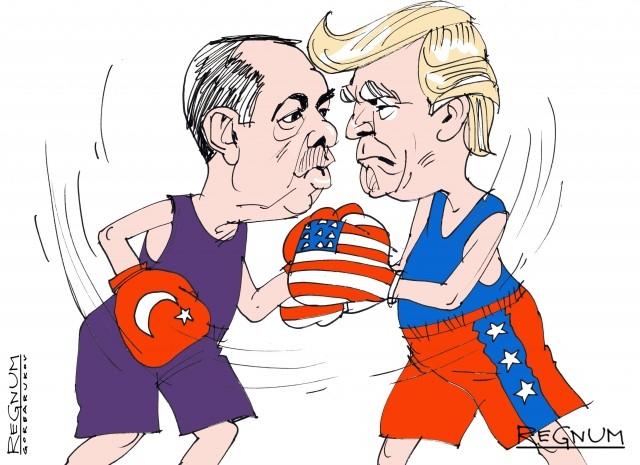 Хочет ли Трамп стравить Турцию с Россией и Ираном?
