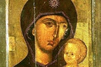 Петр Волынский, Митрополит Московский. Петровская икона Божией Матери. 1306
