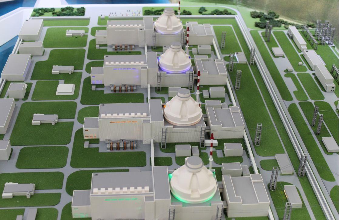 Модель АЭС «Аккую»