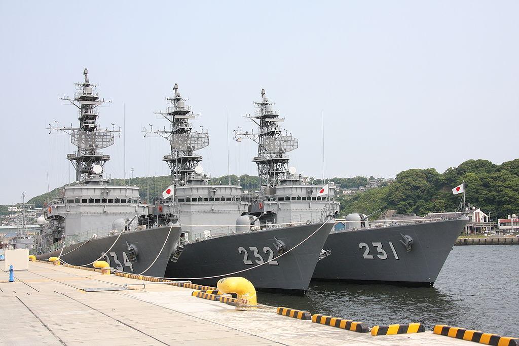Боевые корабли ВМС Японии