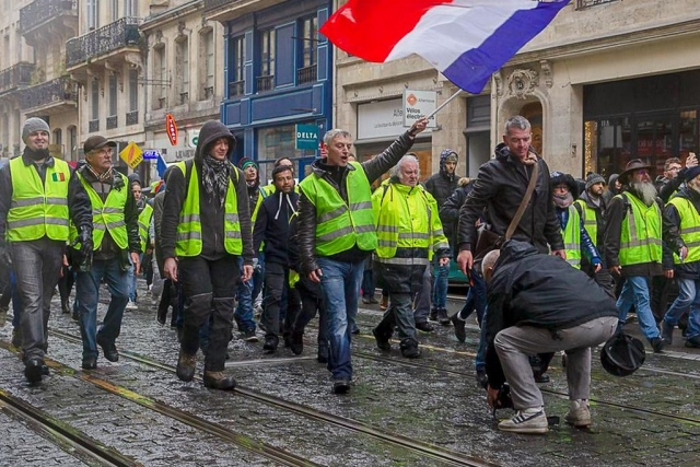 «Жёлтые жилеты» анонсировали новую акцию