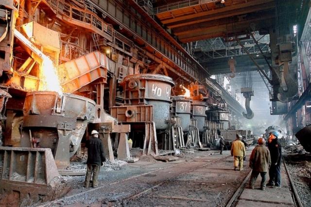 Сталеплавильное производство на Магнитогорском металлургическом комбинате