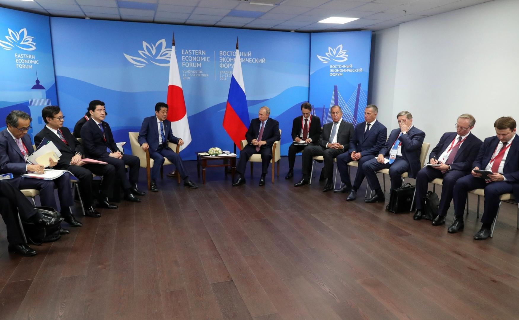 Российско-японские переговоры. 10 августа 2018