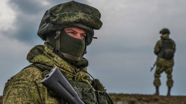 Rusų kariai gina Krymą