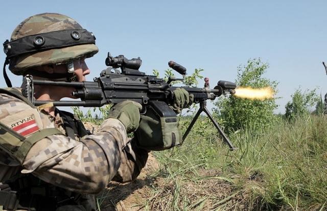 Latvių kareivis