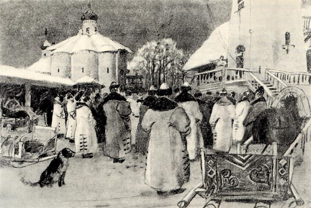 Андрей Рябушкин. Новгородское Вече