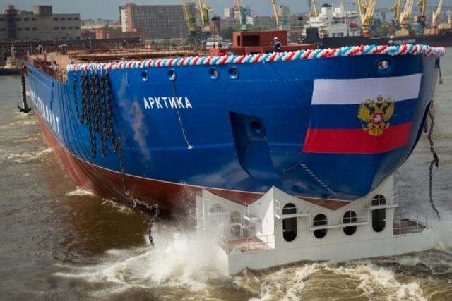 Атомный ледокол «Арктика» проекта 22220