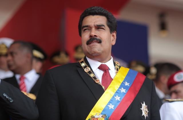 Мадуро вступил в должность президента Венесуэлы на второй срок