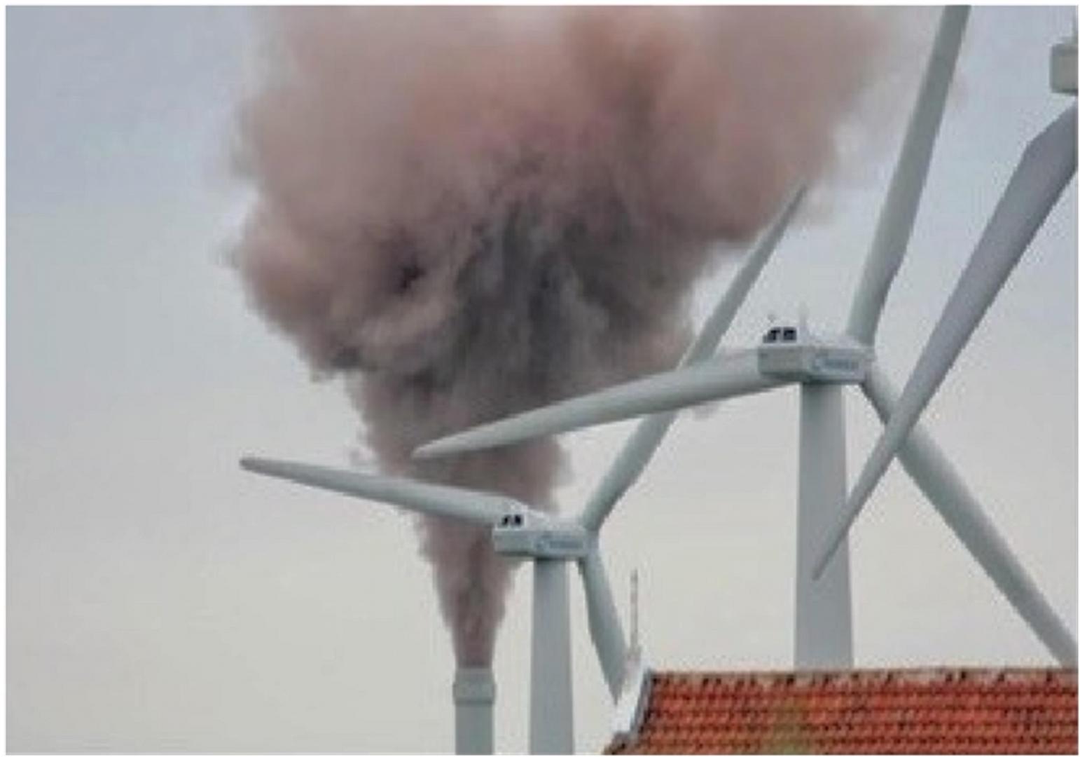 Рис. 6. Типичный краткосрочный неконтролируемый выброс пыли МСЗ