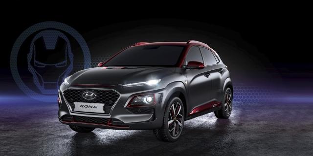 Hyundai анонсировал старт продаж кроссовера Kona Iron Man