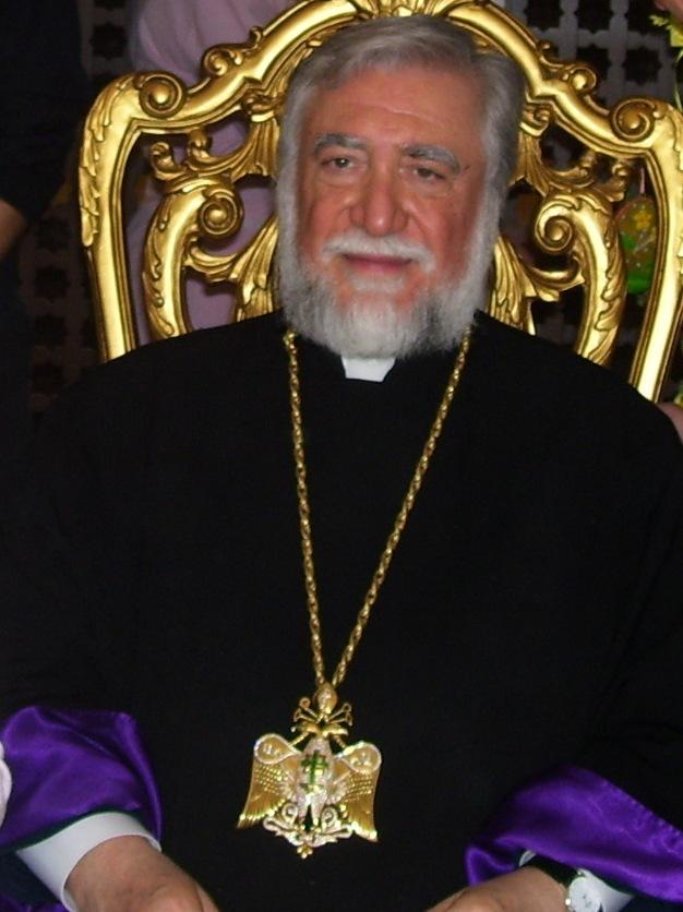 Католикос Арам I {(сс) Սեւան Դանիէլեան Մկրեան]