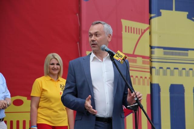 Губернатор Андрей Травников