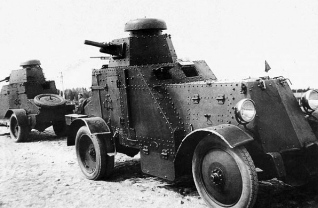 Пушечно-пулеметный БА-27