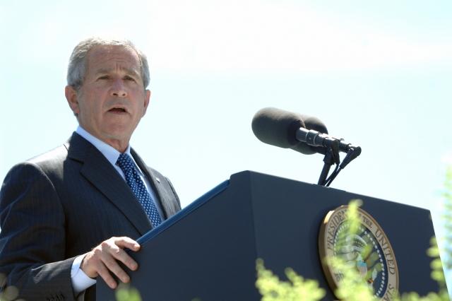 Джордж Буш — младший в 2007 году
