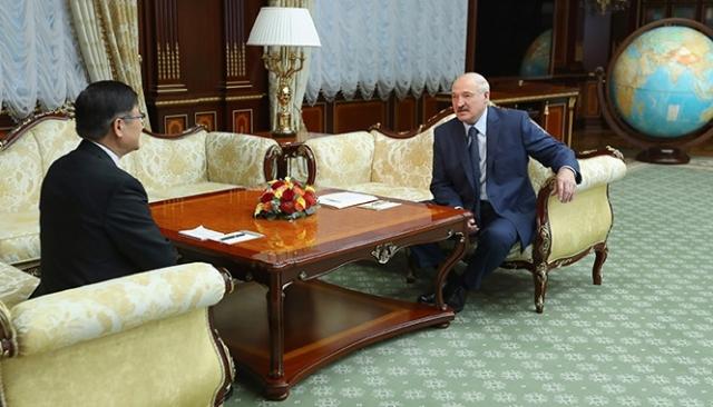 Продолжается активизация китайско-белорусского сотрудничества
