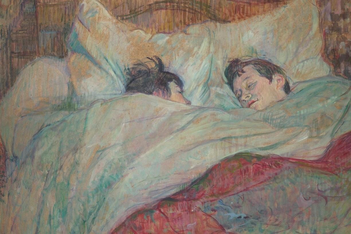 Анри де Тулуз-Лотрек. В постели. 1892
