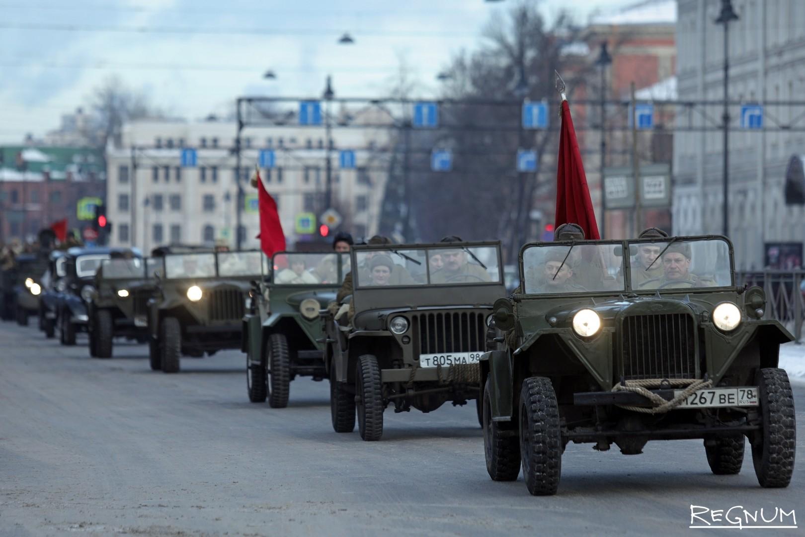 Выставка-ретропроезд «Машины Победы на Дороге Жизни»