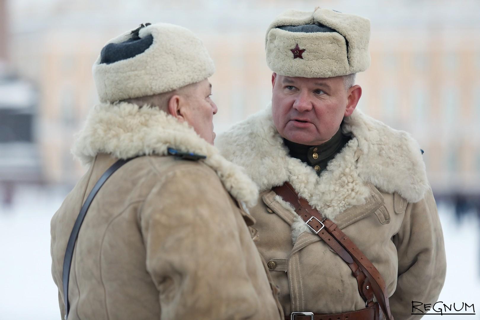 Участники исторических и военно-патриотических клубов