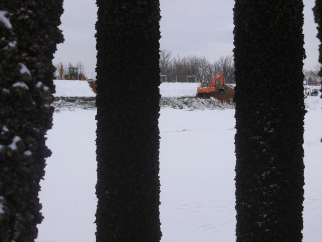 Масштабная авария в Москве Собянина на канале Сталина: Фоторепортаж