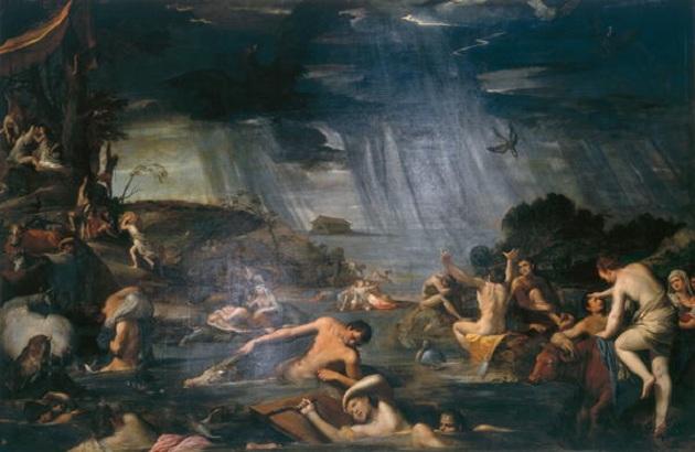 Карло Сарачени. Потоп. XVII век