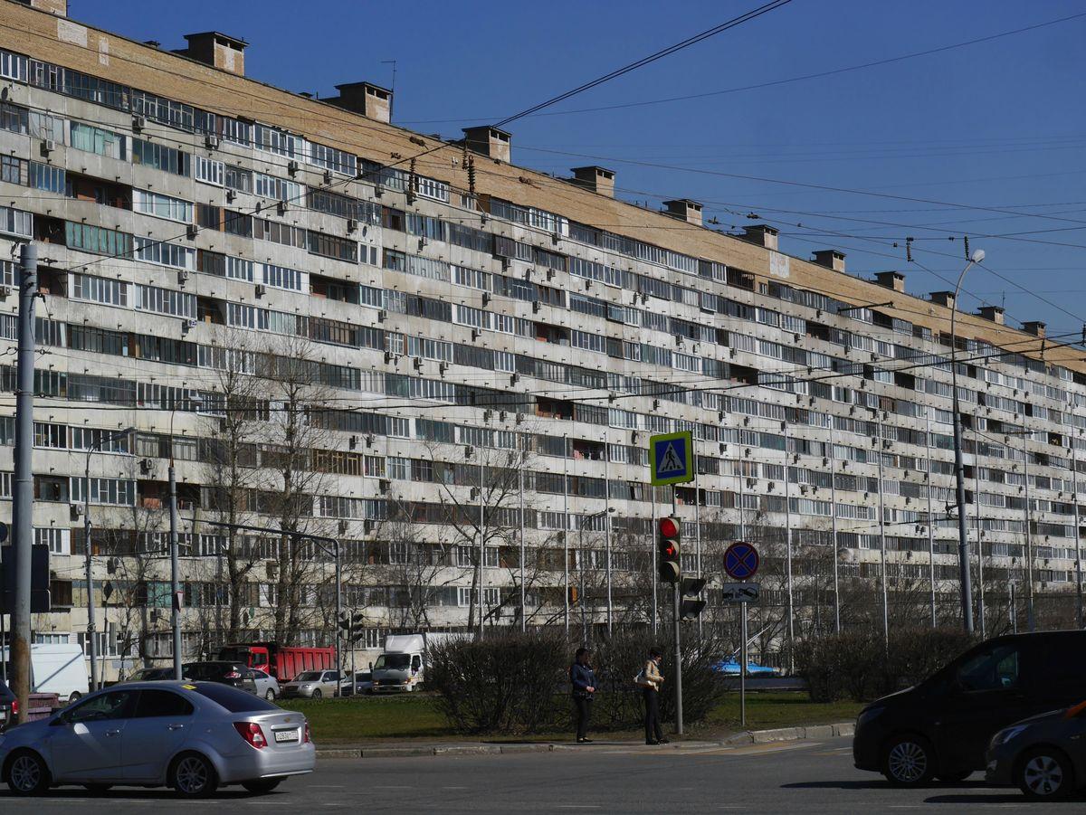 Дом на 692 квартиры 1977 года постройки