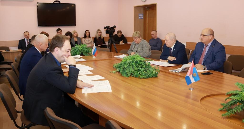 Заседание комитета Городской думы Калуги по правовому обеспечению местного самоуправления 14.01.19
