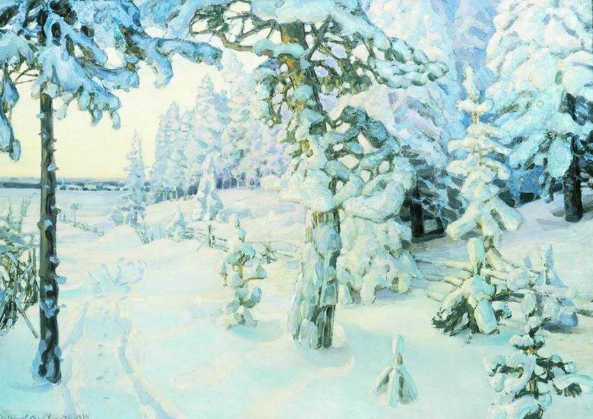 Васнецов А. М. Зимний сон (Зима). 1908-1914
