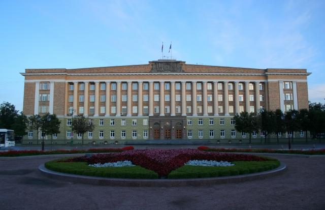 Здание новгородского правительства.