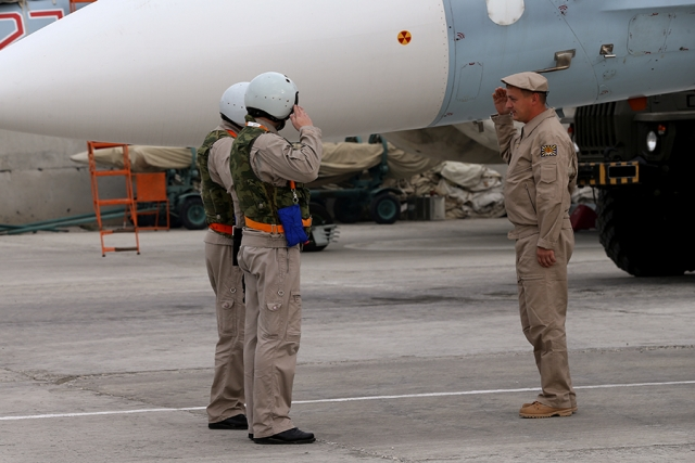 Авиагруппа ВКС РФ на аэродроме «Хмеймим» в Сирии