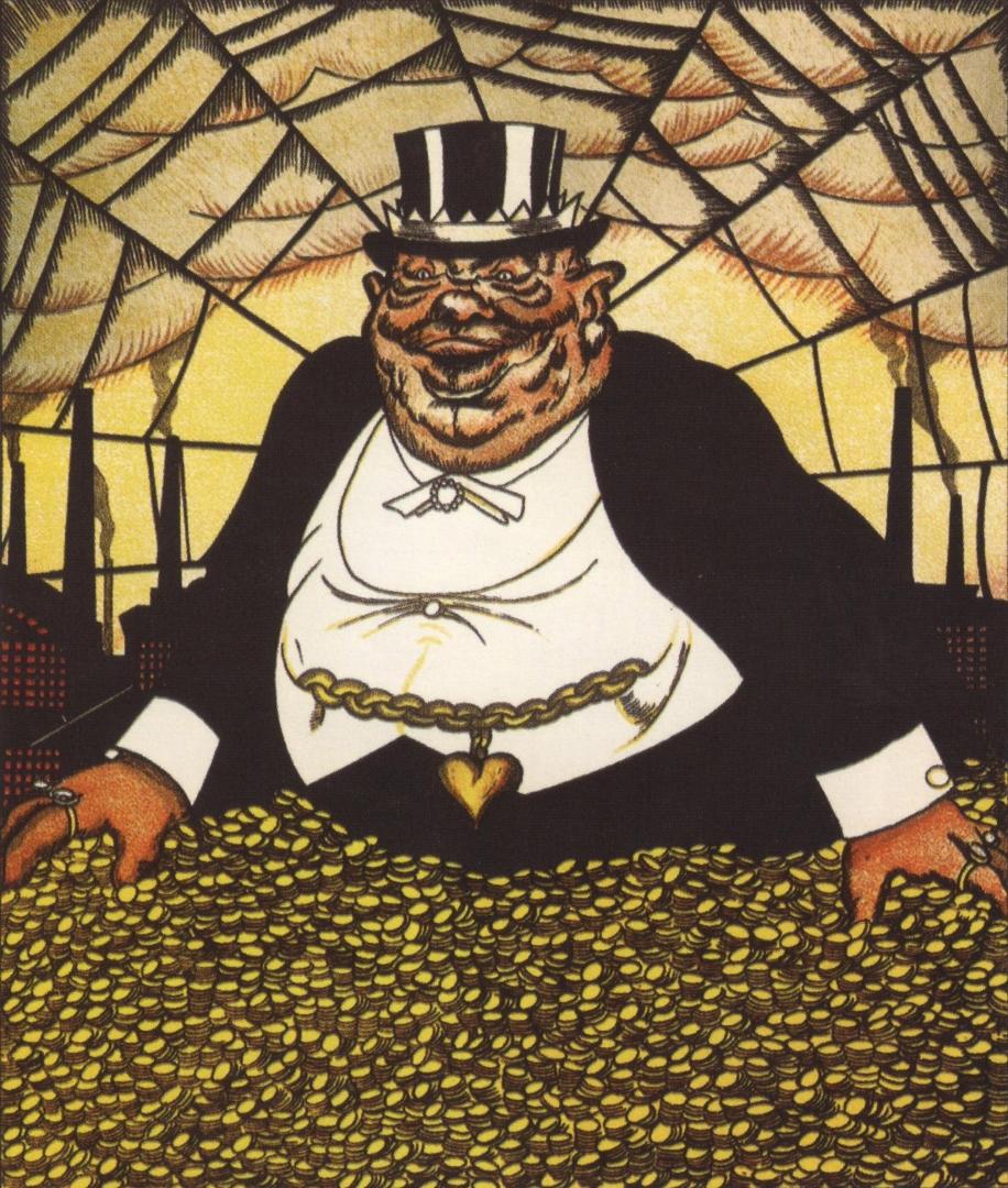 Виктор Дени. Капитал. 1920