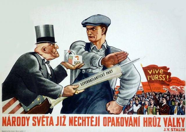 Народы мира не хотят повторения ужасов войны (И. В. Сталин)