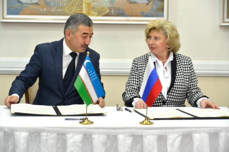 Подписаны Меморандумы о сотрудничестве с омбудсменом Узбекистана и с Национальным центром Узбекистана по правам человека