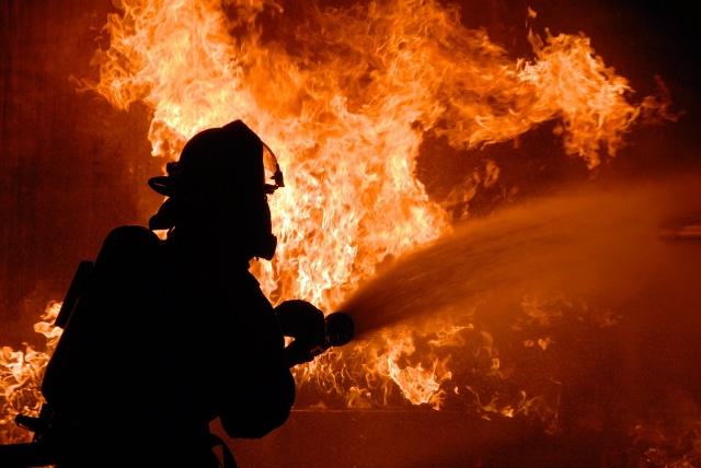 Во Львовской области произошёл пожар на маслозаводе
