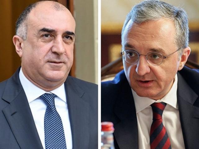Мамедъяров и Мнацаканян провели в Париже переговоры о переговорах