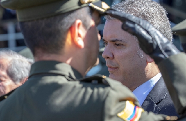 Президент Колумбии прибыл на место теракта в Боготе