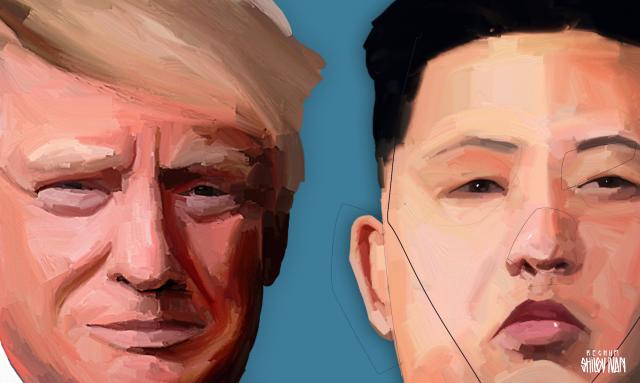 Белый дом: Трамп и Ким Чен Ын встретятся в конце февраля