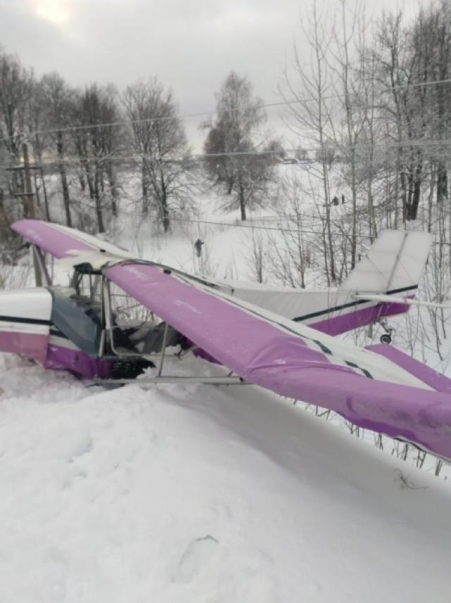 Частный самолёт совершил жёсткую посадку в Марий Эл