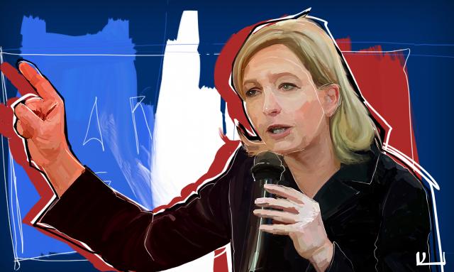 МИД Франции: «Марин Ле Пен останется в изоляции на европейской сцене»